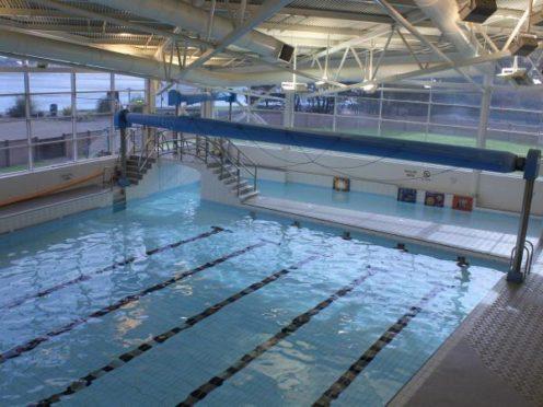 Burntisland Beacon Leisure Centre swimming pool