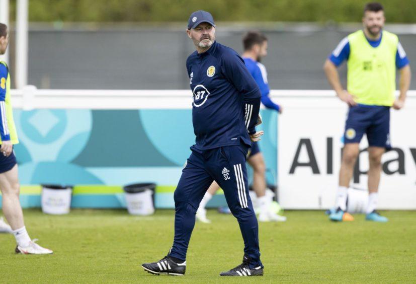 Scotland manager Steve Clarke.
