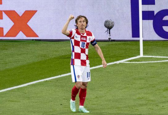 Croatia captain Luka Modric.