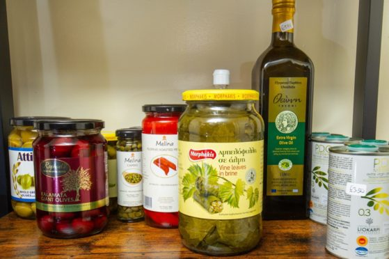 Andreou's Bistro some of the Greek Cypriot food you can buy