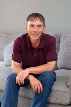 Marcus Stewart who recently found his long lost dad only to discover he had passed away just weeks earlier.