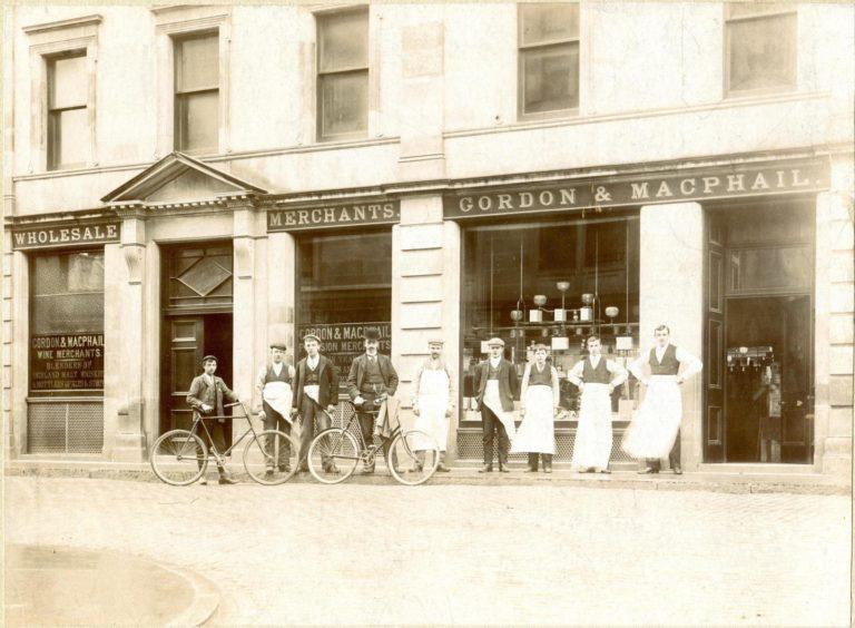World's oldest single malt released by Gordon & MacPhail, shop in Elgin 1895
