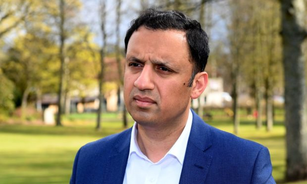 Scottish Labour leader Anas Sarwar spoke out in support of the Aberdeen Nine on a visit to the city's Victoria Park last month.