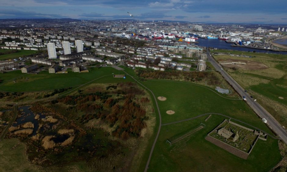 St Fittick's Park in Torry could make way for the proposed Energy Transition Zone (ETZ) after the local development plan was agreed.