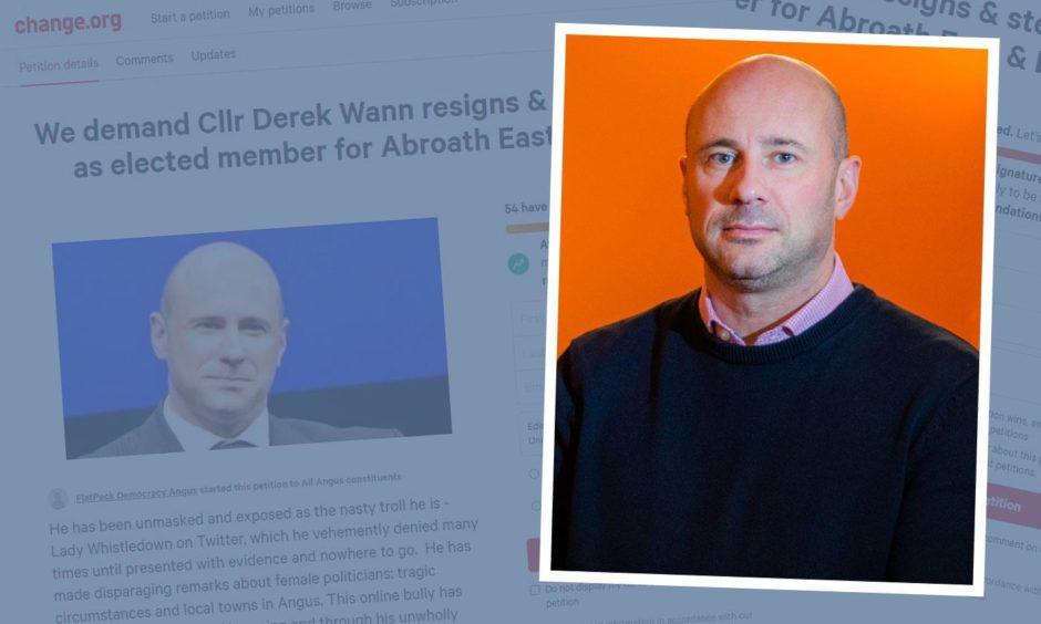 Councillor Derek Wann is facing calls to resign