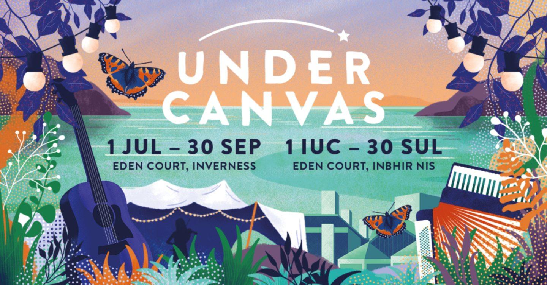 under canvas