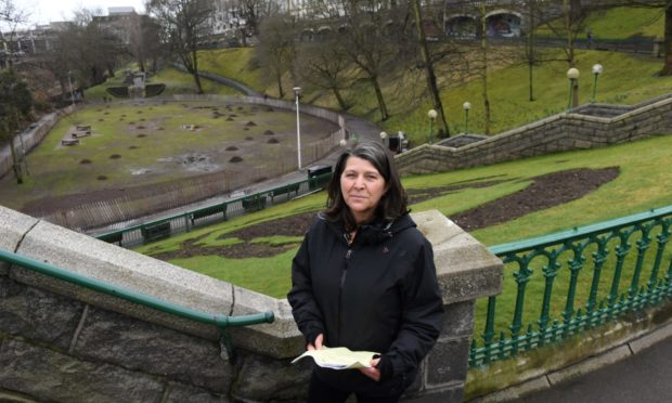 Capital programme committee convener Marie Boulton, pictured in Union Terrace Gardens in 2018, has told us one of the new pavilions could be used to subsidise the city's cultural sector.