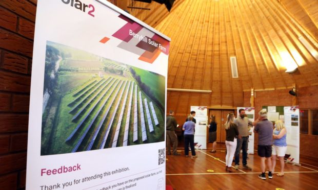 berryhill solar farm consultation