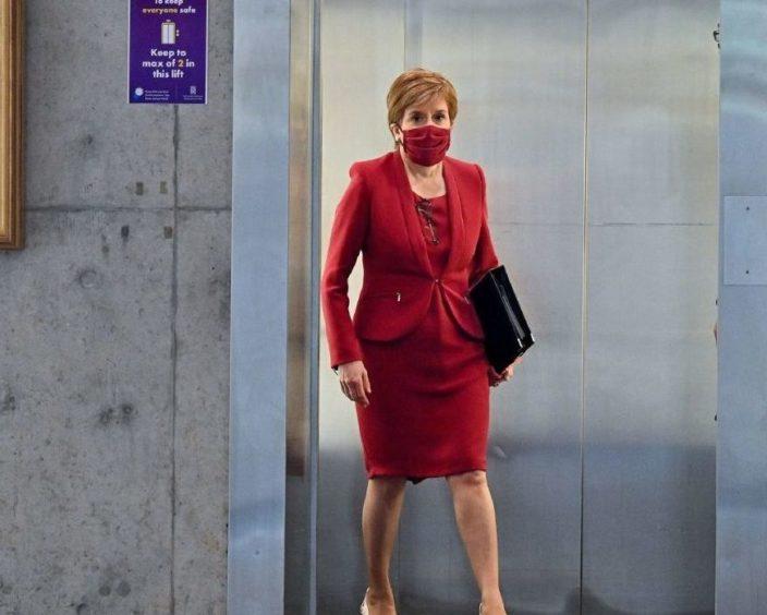 Sturgeon Covid Parliament update