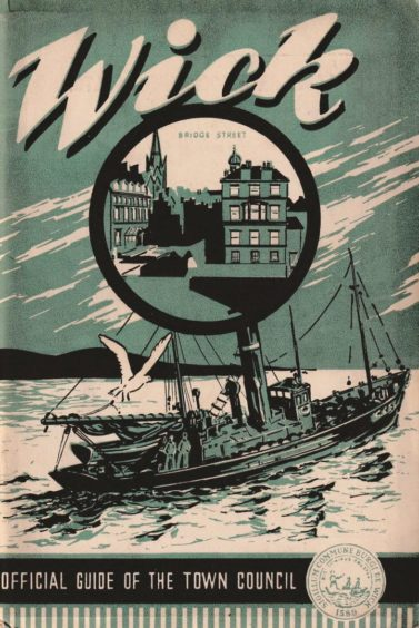 A promotional booklet produced by Wick Town Council in the 1940s.