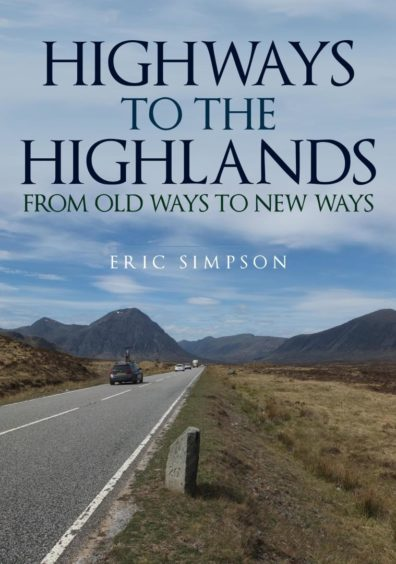 The cover of Eric Simpson's new book, Highways to the Highlands.