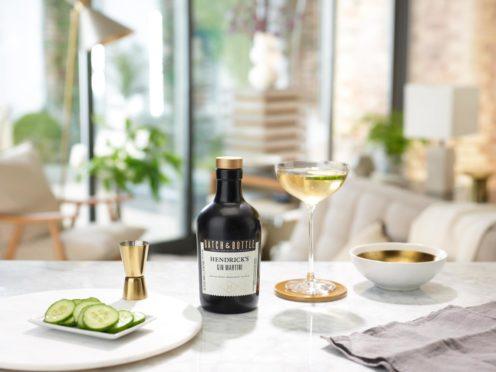 Batch and Bottle Hendrick's Gin Martini