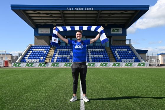 Cove Rangers' new signing Morgyn Neill.