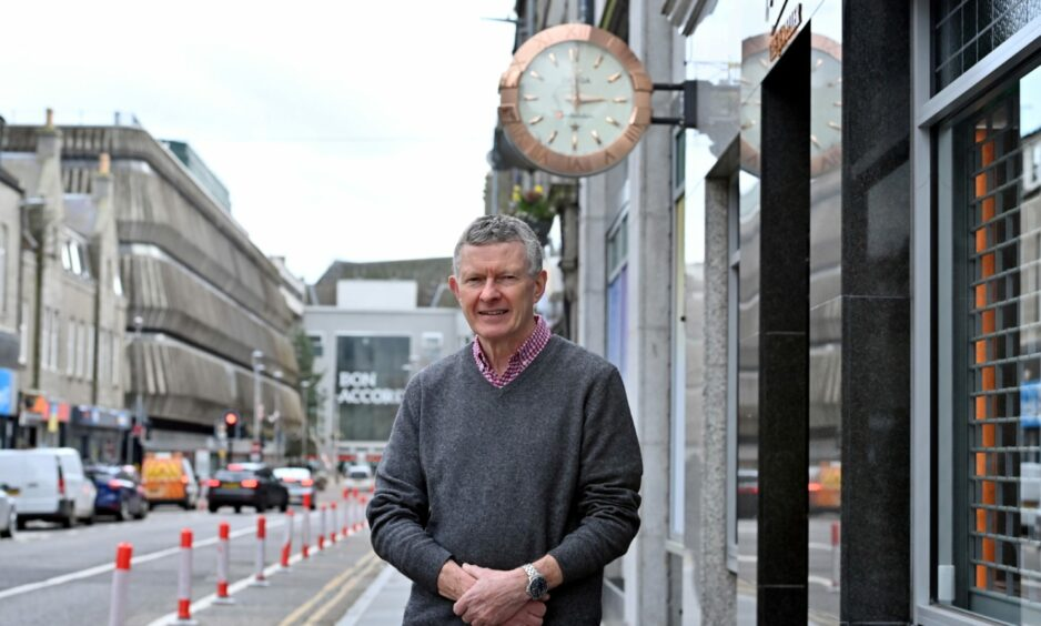 Stuart Milne, chairman of the George Street Traders' Association, backed the Bid to get through 'dark days' after the pandemic.