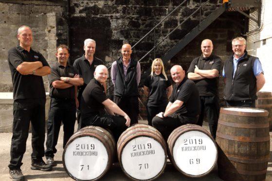 James Logie Knockdhu Distillery