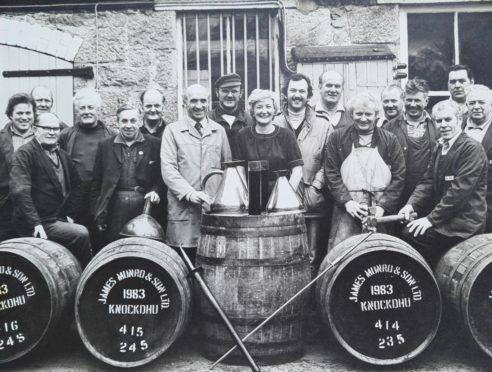 Derek Logie Knockdhu Distillery