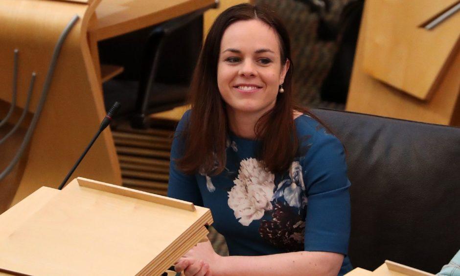 Finance Secretary Kate Forbes.