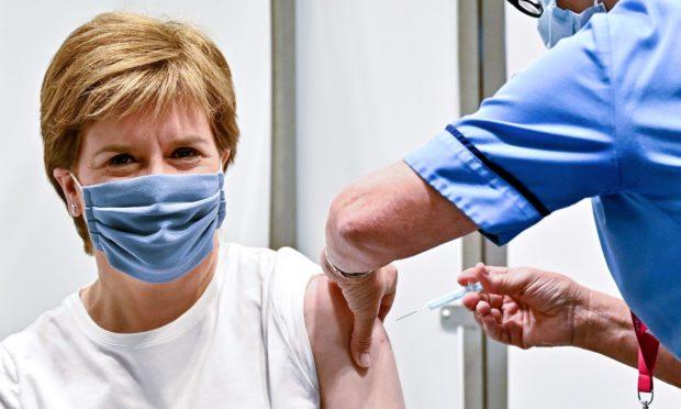 Covid Scotland third vaccine