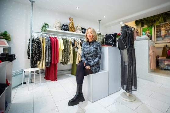 Fashion designer Hayley Scanlan has had to close her studio after testing positive for Covid.