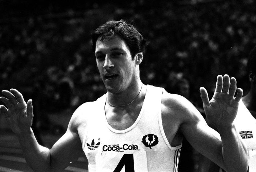 Scottish Olympian Allan Wells.