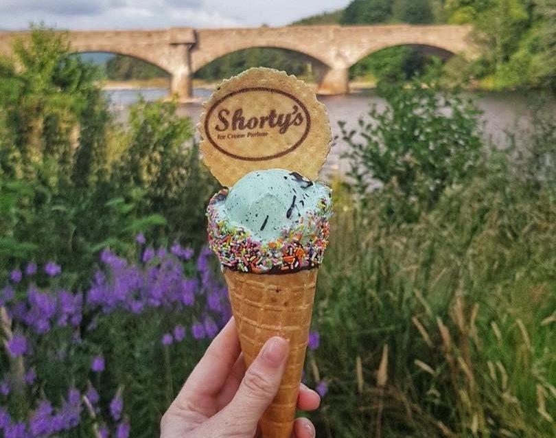 Shorty's ice cream