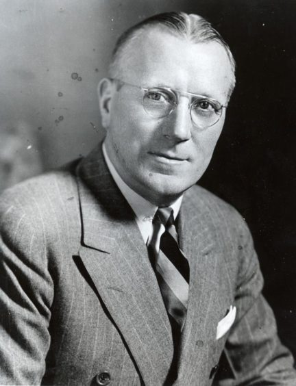 Jock Sutherland portrait