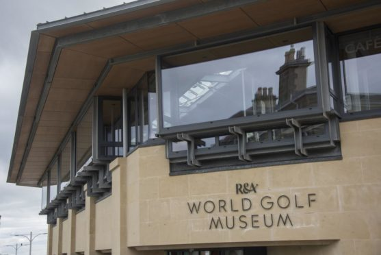 The exterior of the R&A World Golf Museum in St Andrews