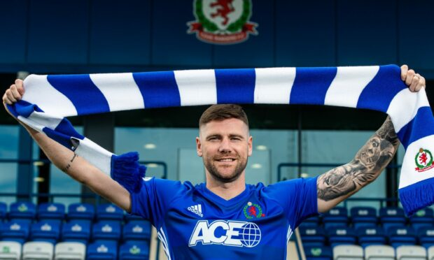 Cove Rangers' new signing Iain Vigurs.