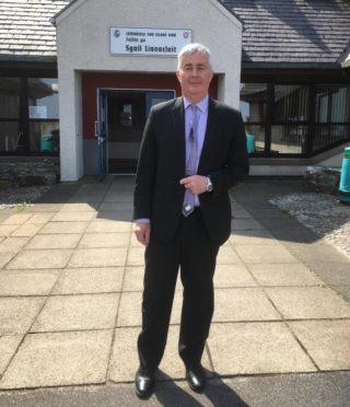 Western Isles Education boss William Macdonald