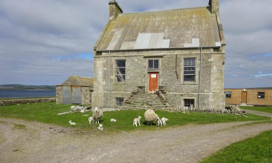 A £4 million restoration is in progress at the Hall of Clestrain in Orkney.