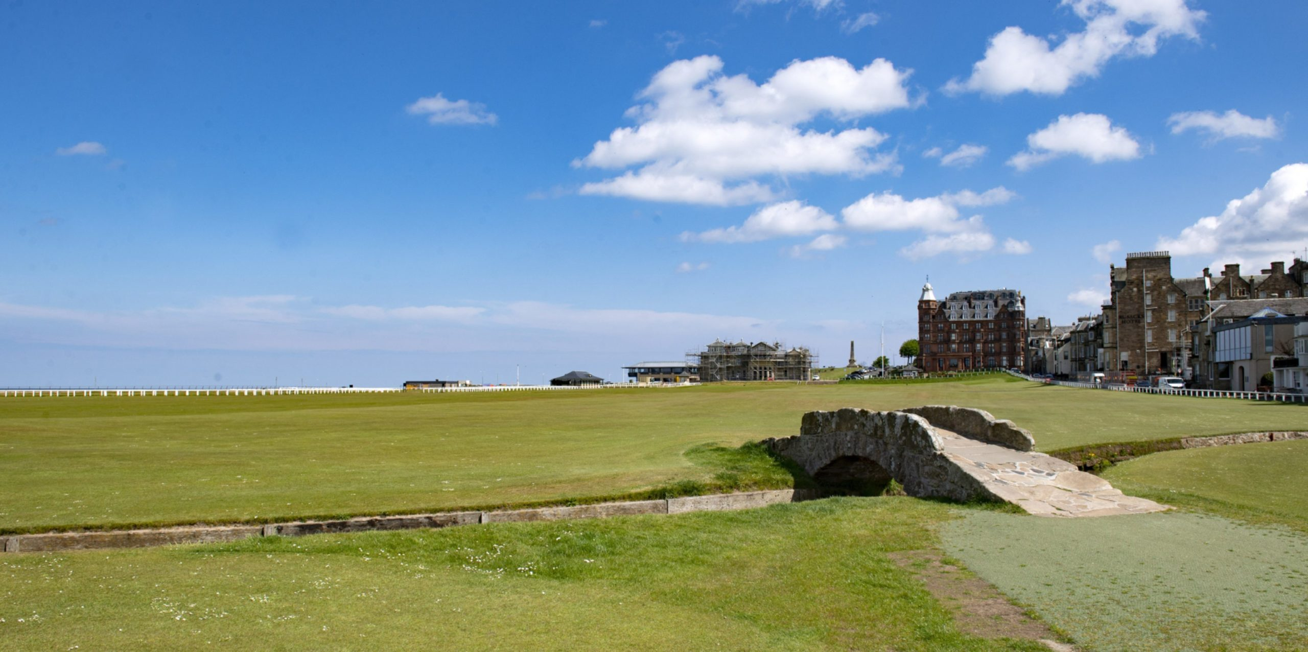 The famous Old Course in St Andrews
