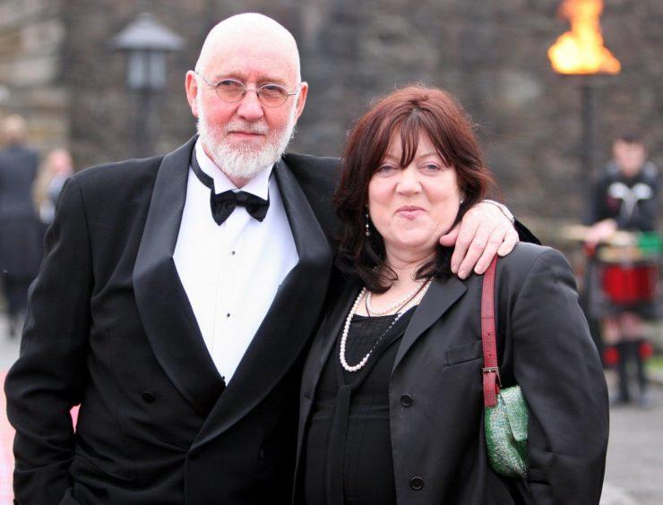 Albert Watson and wife
