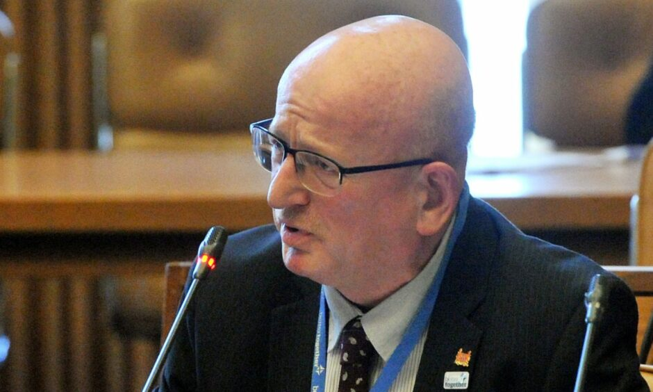 """Councillor Alan Donnelly is """"looking forward to the truth coming out"""" at the Standards Commission hearing."""