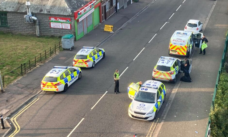 Dundee Sandeman police incident