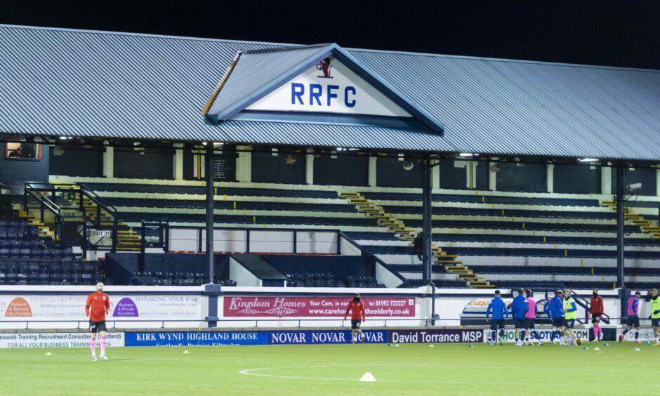 Raith Rovers' ground, Stark's Park.