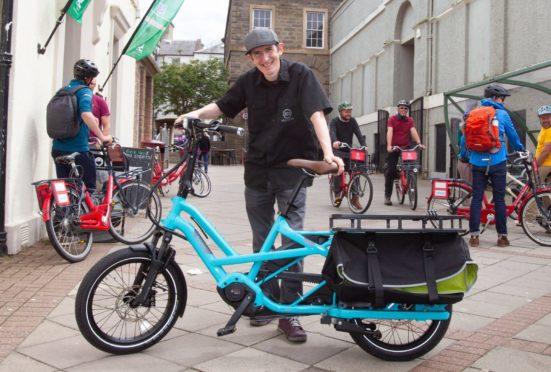 Arbroath cycling