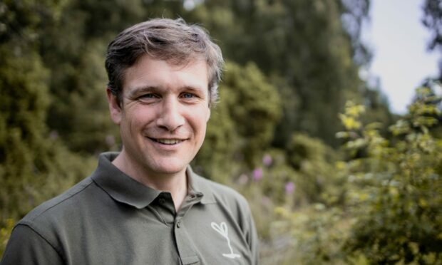 Trees for Life manager Alan McDonnell, who is backing Tayside beavers trapping plan