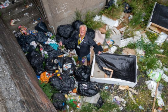 Methil fly-tipping