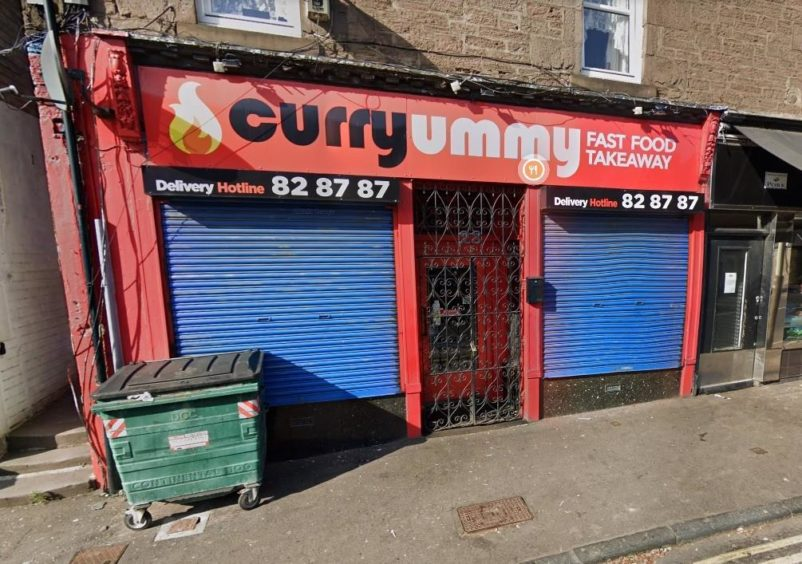 Bajwa owns the Curryummy takeaway in Dundee's Hilltown