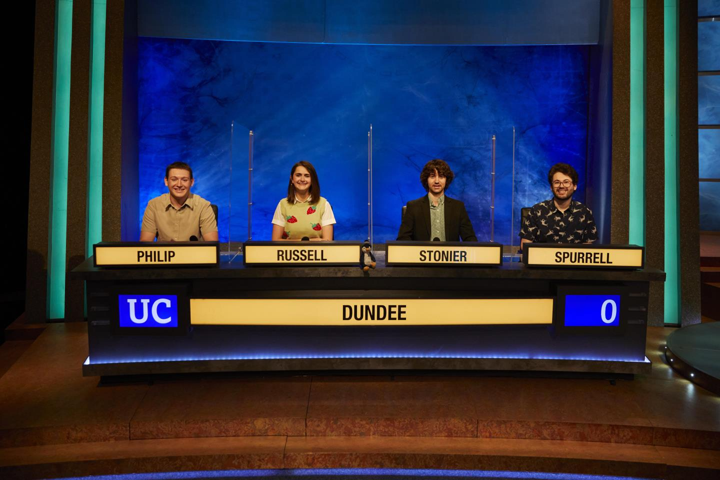 The University of Dundee team hope to claim victory for the first time since 1983.