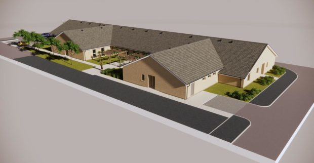 Aritist impression of new Dundee care home