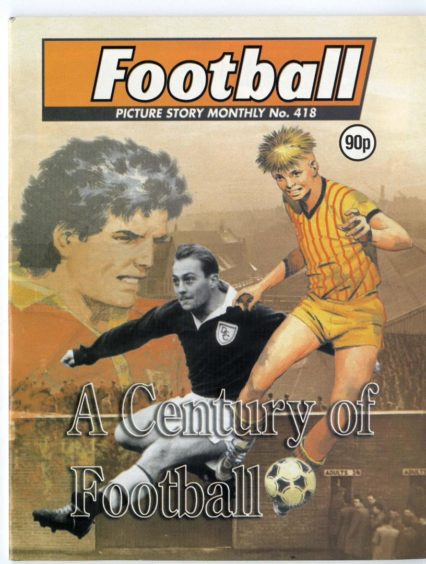 The final edition of Football Picture Story Monthly