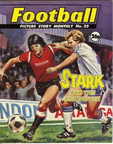 Stark and the Destroyer was issue number 22 of the popular Football Picture Story Monthly series