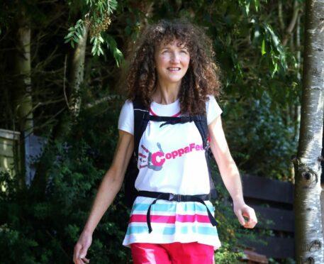 Jane walking