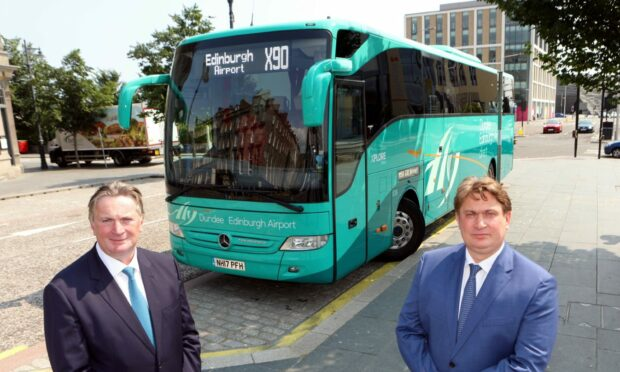 Sandy Easdale and his brother James, McGill's Buses chairman.