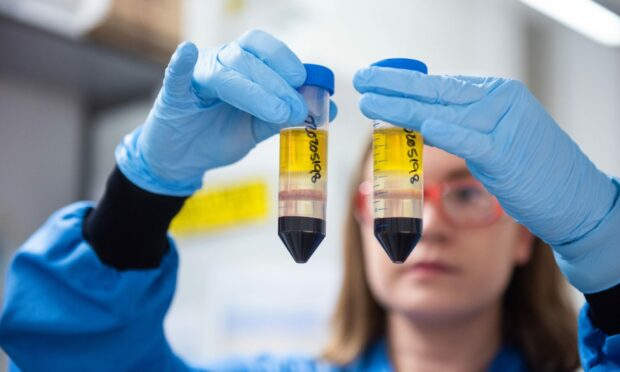 An researcher at the Jenner Institute working on the coronavirus vaccine developed by AstraZeneca and Oxford University.