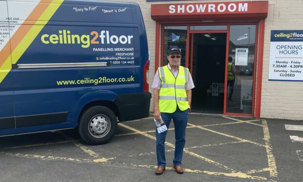 Brian Crombie, director at Ceiling2Floor.