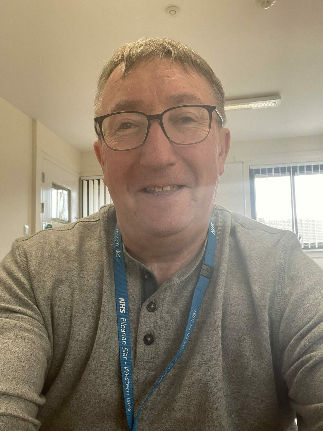 Joe Wilson, recovery community officer for Outer Hebrides Alcohol & Drug Partnership.
