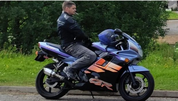 Biker Mark Docherty, 36