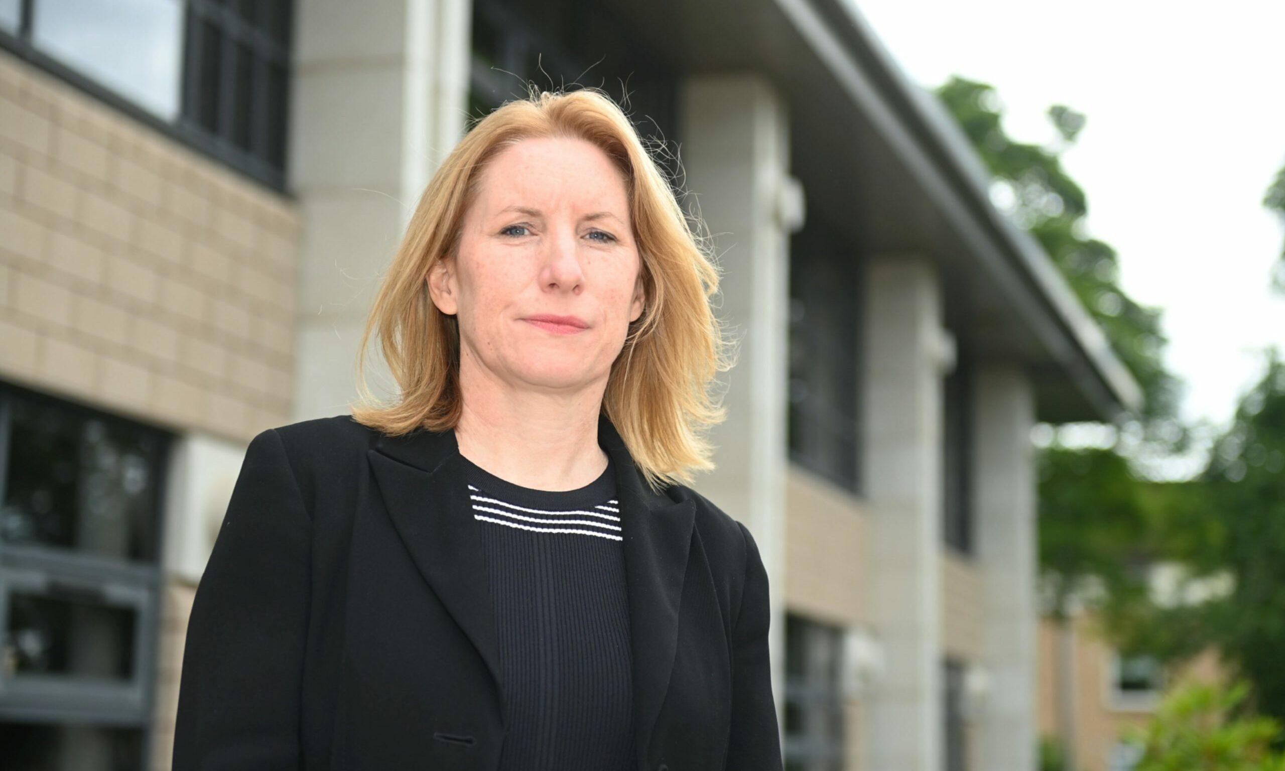 Caroline Hiscox, chief executive of NHS Grampian.